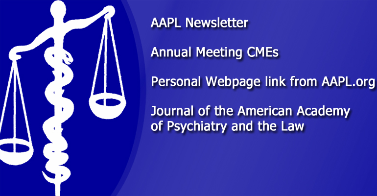 AAPL - American Academy of Psychiatry and the Law